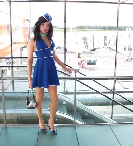 Stewardess Flughafen Köln Bonn