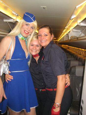 Stewardessen von Air Berlin