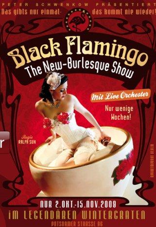 black-flamingo