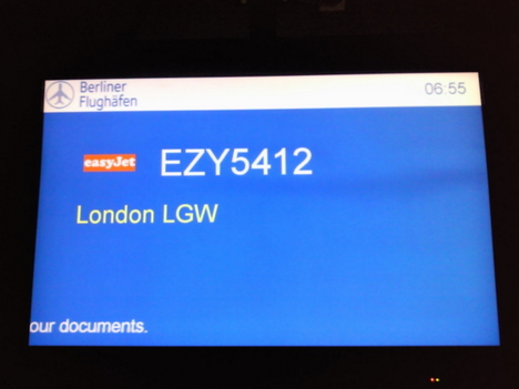 Easyjet nach London
