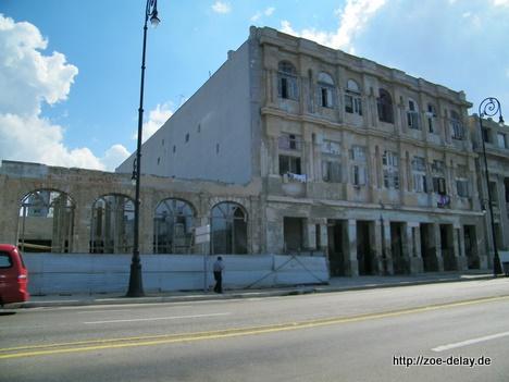 Havanna Altstadt Ruinen