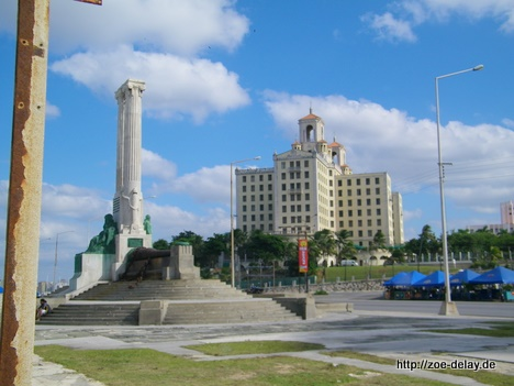 Havanna Malecon und Hotel Nacional de Cuba