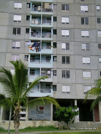 i love cuba plattenbau