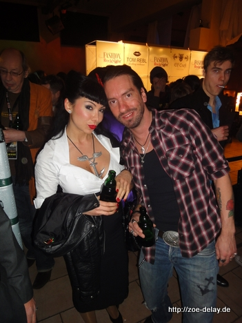 fashion week aftershow party