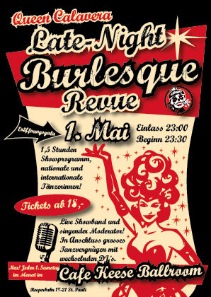 Queen Calavera Late-Night Burlesque Revue