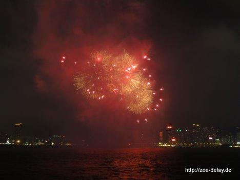 hong kong feuerwerk