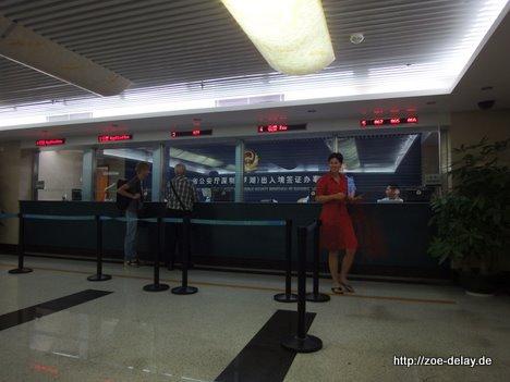 Shenzhen Visa Vergabe