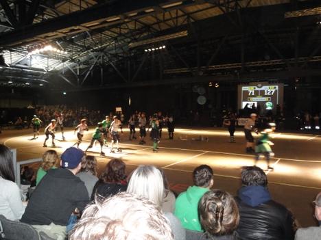 roller derby arena