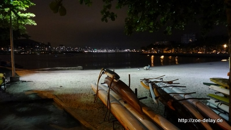 urca beach night