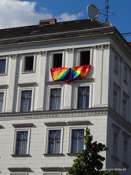 TSCD Berlin regenbogenflagge