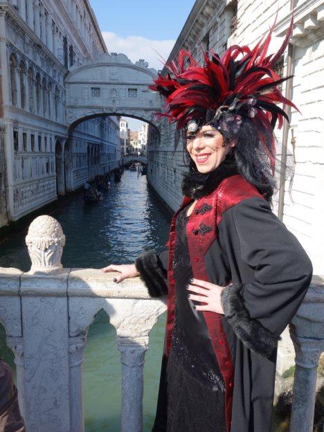 Venedig Karneval kostüm