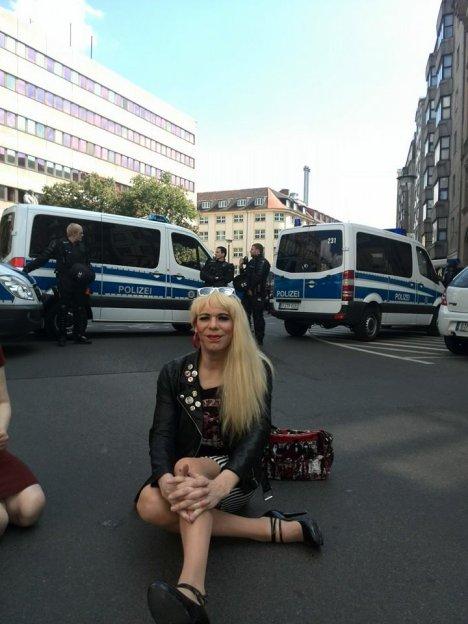 npd demo berlin kreuzberg